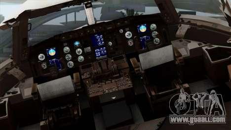 Boeing KC-767 Japan Air Self-Defense Force for GTA San Andreas back view