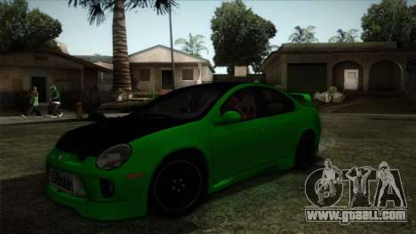 Dodge Neon SRT-4 Custom 2006 for GTA San Andreas