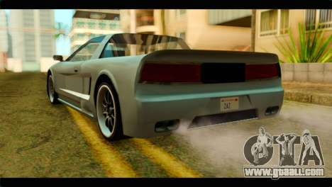 Infernus Rapide S for GTA San Andreas left view