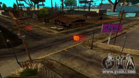 HQ Roads 2015 for GTA San Andreas forth screenshot