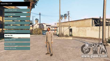 Changing the character v2.0 for GTA 5