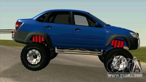 VAZ 2190 Grant for GTA San Andreas