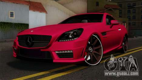 Mercedes-Benz SLK55 AMG 2012 for GTA San Andreas