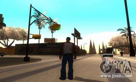 ENB Series for medium PC for GTA San Andreas second screenshot