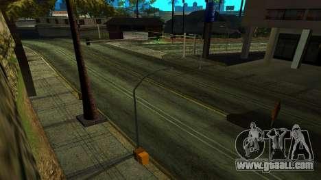 HQ Roads 2015 for GTA San Andreas third screenshot