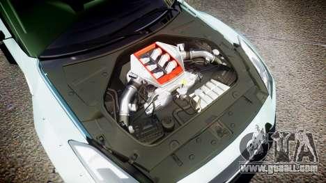 Nissan GT-R R35 Rocket Bunny [Update] for GTA 4 side view