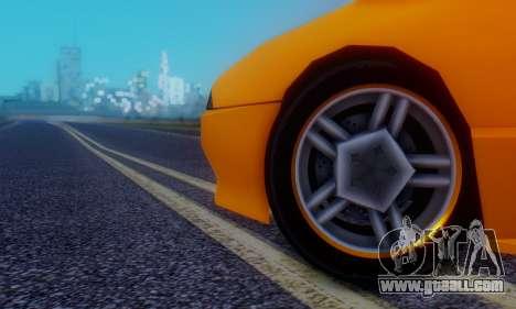 Elegy Hatchback v.1 for GTA San Andreas upper view