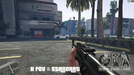 GTA 5 FOV mod v1.3 second screenshot