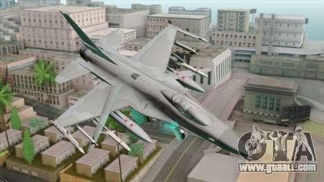 F-16C Jastrzab for GTA San Andreas