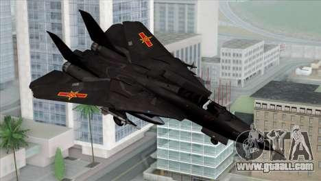 F-14 China Air Force for GTA San Andreas