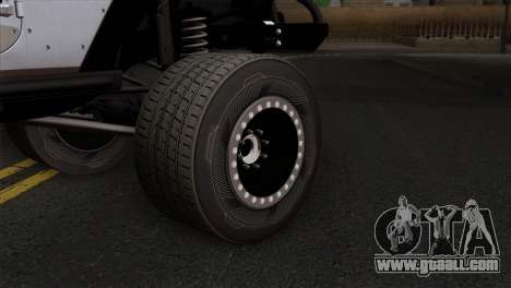 Jeep Wrangler 2013 Fast & Furious Edition for GTA San Andreas back left view