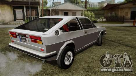 Alfa Romeo Alfasud Sprint for GTA San Andreas left view