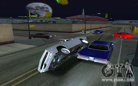 Car Wheelie for GTA San Andreas second screenshot