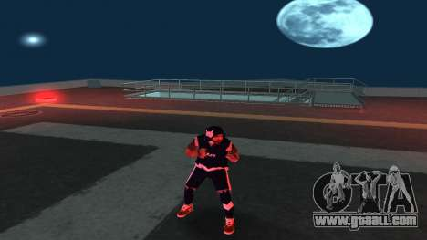 Replacing the homeless v1 for GTA San Andreas forth screenshot