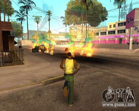Rainbow Effects for GTA San Andreas ninth screenshot