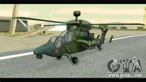 Eurocopter Tiger Polish Air Force for GTA San Andreas