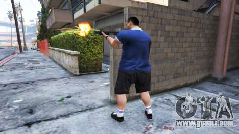 GTA 5 Ped Riot (a Riot of the citizens of Los Santos) second screenshot