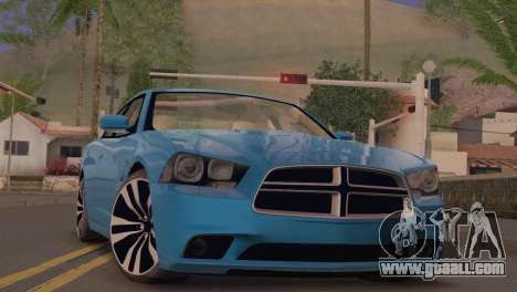 Dodge Charger SRT8 2012 Stock Version for GTA San Andreas