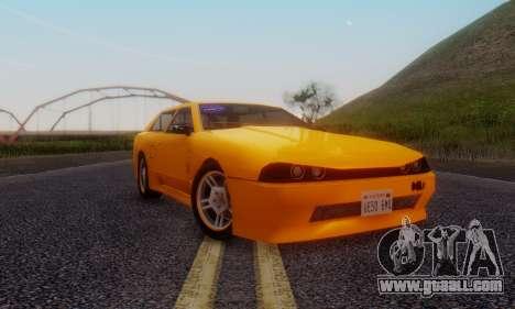 Elegy Hatchback v.1 for GTA San Andreas left view