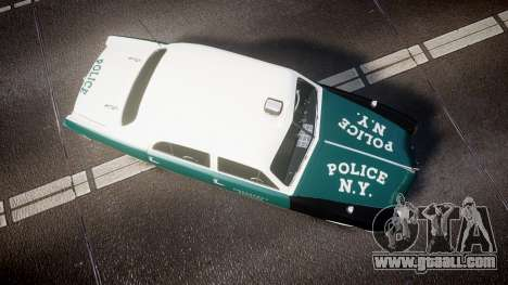 Ford Custom Fordor 1949 New York Police for GTA 4 right view