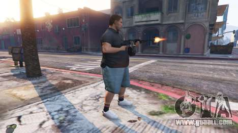 GTA 5 Ped Riot (a Riot of the citizens of Los Santos) fourth screenshot