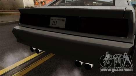 Buffalo Supercharged for GTA San Andreas back view