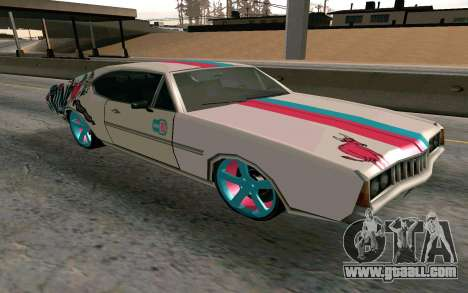 Clover Blink-182 Edition for GTA San Andreas back view