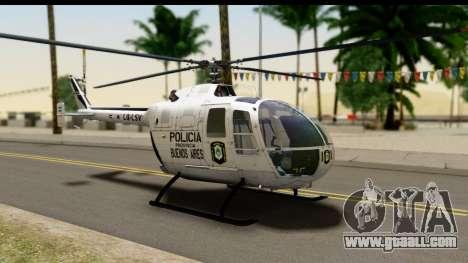 MBB Bo-105 Argentine Police for GTA San Andreas
