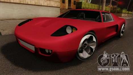 Bullet PFR v1.0 for GTA San Andreas