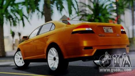 Vapid Interceptor v2 SA Style for GTA San Andreas left view