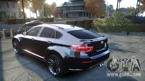 HAMANN BMW X6 2011 Tycoon EVO M v1.0 TSE for GTA 4 back left view