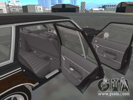 Plymouth Volare Wagon 1976 wood for GTA San Andreas inner view