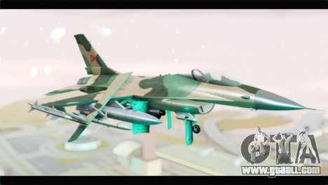 F-16A Fuerza Aerea Venezolana for GTA San Andreas