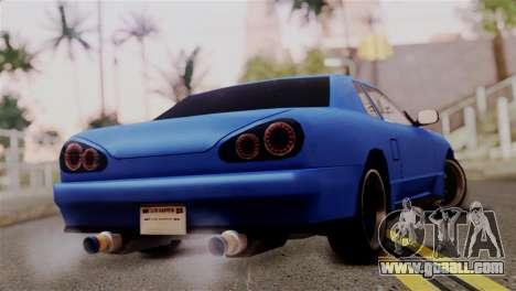 Elegy Full Customizing for GTA San Andreas left view