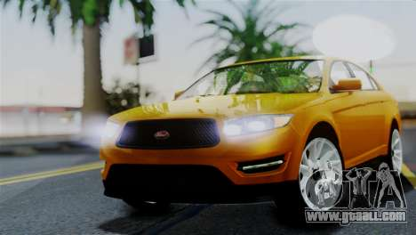 Vapid Interceptor v2 SA Style for GTA San Andreas