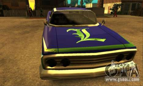 Luni Voodoo for GTA San Andreas upper view