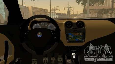 Alfa Romeo Mito Tuning for GTA San Andreas side view