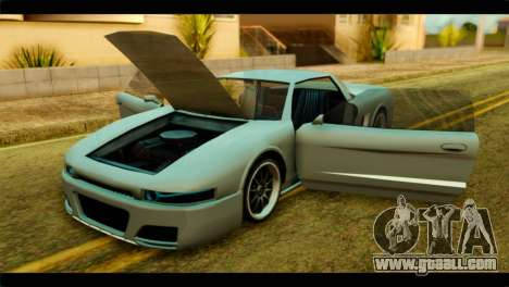 Infernus Rapide S for GTA San Andreas right view