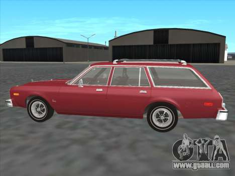 Plymouth Volare Wagon 1976 for GTA San Andreas left view