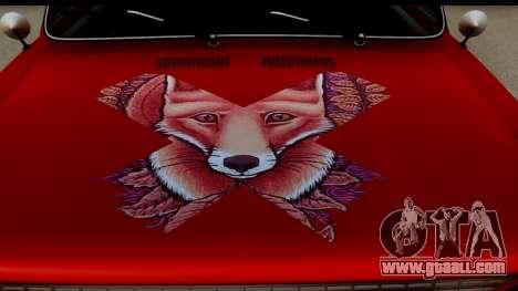 VAZ 2101 FOX for GTA San Andreas back view