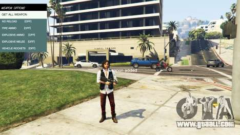 GTA 5 Native Trainer fifth screenshot