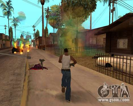 Rainbow Effects for GTA San Andreas eleventh screenshot