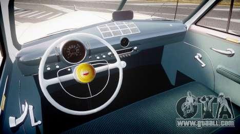 Ford Custom Fordor 1949 v2.2 for GTA 4 back view
