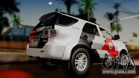 Toyota Hilux SW4 2014 Forca Tatica for GTA San Andreas left view