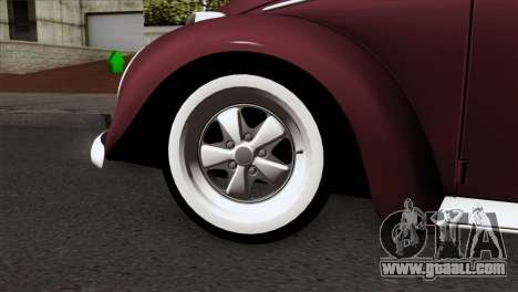 Volkswagen Beetle for GTA San Andreas back left view