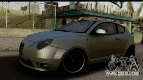 Alfa Romeo Mito Tuning for GTA San Andreas