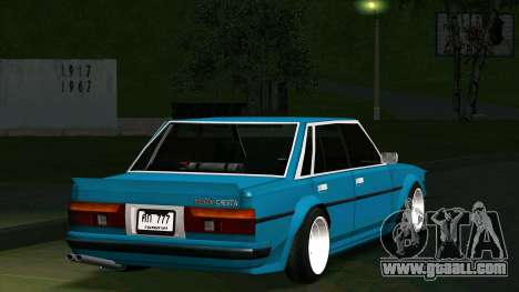 Toyota Cresta GX71 for GTA San Andreas inner view