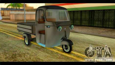 Piaggio Ape C 125CC 1967 for GTA San Andreas