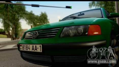 Volkswagen Passat B5 for GTA San Andreas back left view