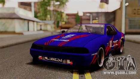 Elegy Full Customizing for GTA San Andreas side view